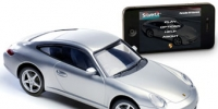 <strong>SilverLit Interactive Bluetooth R/C Porsche 911 Carrera ($79.99)</strong><br />Our tween testers' toy of the year, an RC model car that you control with your iPhone. Connected by Bluetooth, you can wireless steer the car RC car, and also control the lights.  You can control the car with virtual joysticks or by using tilt-control.  Kid testers loved the speed it was capable of and the great sound effects.  VROOOOOmmmmm!