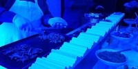There was lots of incredible food at the Sony event: fresh tacos served with crab, duck, steak and pork were the main course. 